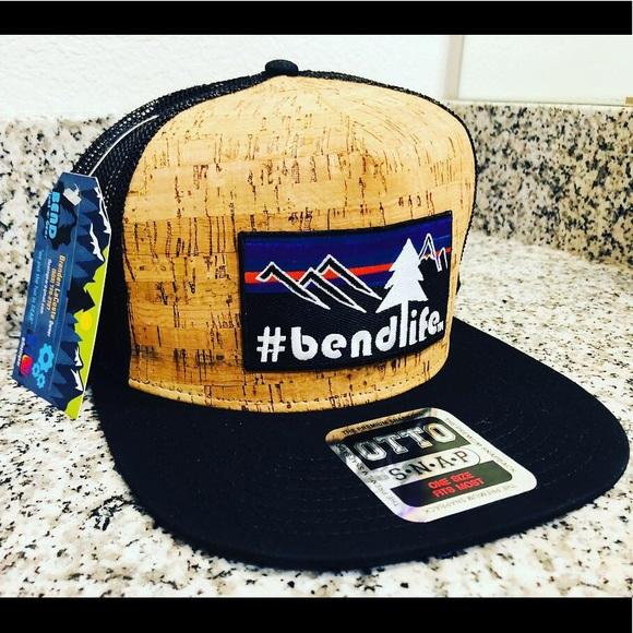 bendlife cork snapback hat designed in Bend d4fad09d883